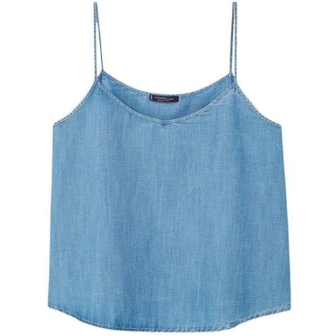 Soft Denim Top Mango best 25 blue cami tops ideas on knitted tank