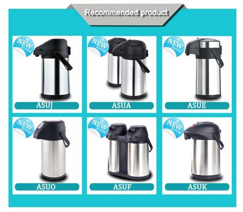 Teko Termos Air Stainless Steel Vacuum Coffee Pot 1 5lt New Promo new design vacuum stainless steel thermos air pot tea pot