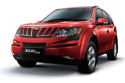 Mahindra & Mahindra launches the XUV500 SUV Auto Photos