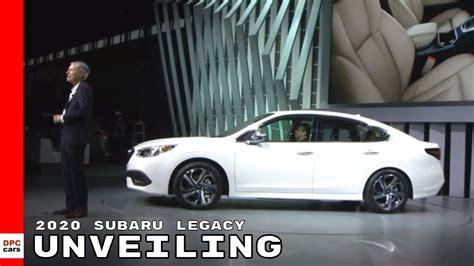 2020 Subaru Outback Unveiling by 2020 Subaru Legacy Xt Subaru Review Release