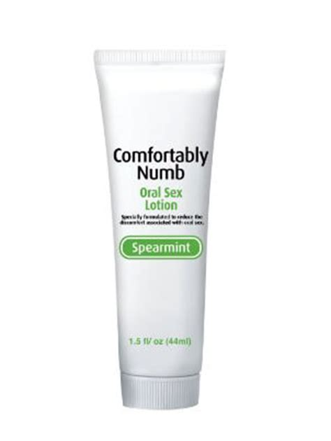 comfortably numb deep throat spray reviews comfort numb deep throat lotion spearmint