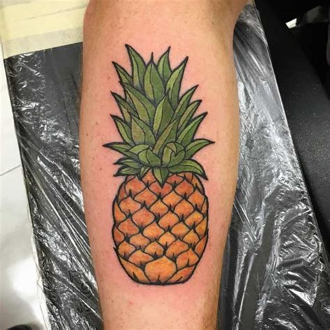 pineapple tattoo 32 perfectly awesome pineapple tattoos tattooblend