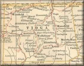 1897 map of tioga county pa