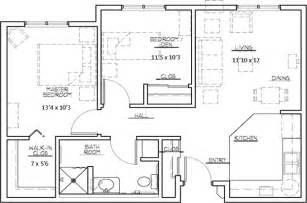 2 bedroom apartments floor plan