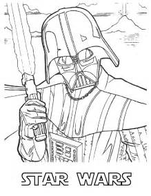 star wars free colouring pages