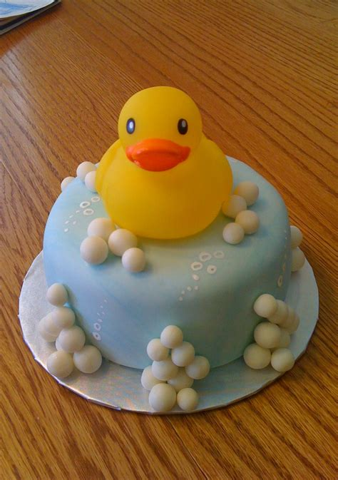 Duck Baby Shower Cake by Rubber Ducky Baby Shower Cake Beth S