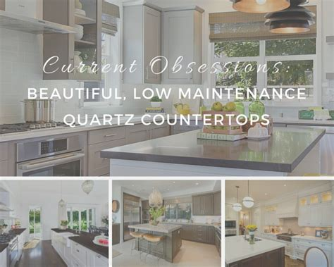 Maintaining Quartz Countertops by Current Obsessions Beautiful Low Maintenance Quartz