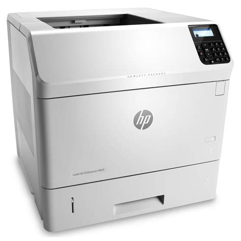 Printer Laser Monokrom hp m605dn laserjet enterprise monochrome laser printer