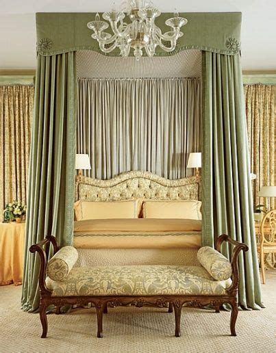 Beautifully Draped Bed Formal Fancy Pants Living Spaces