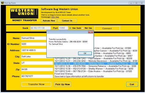 western union erste bank wu bug 2013 code key
