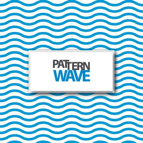 pattern vector waves blue waves pattern design vector free download