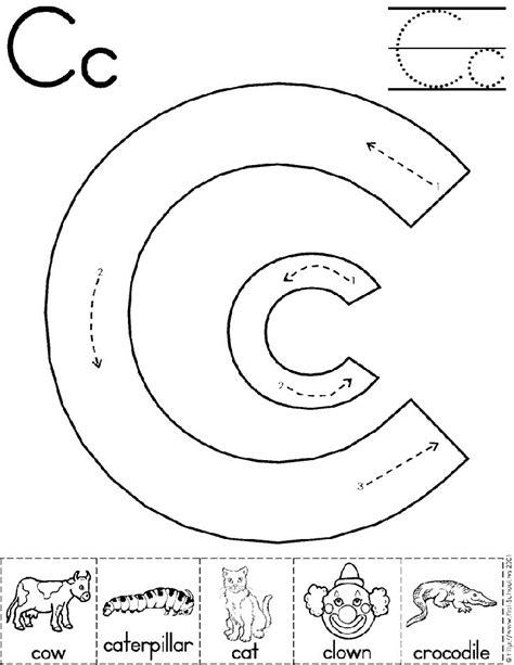 Letter C Worksheets by 17 Best Ideas About Letter C Preschool On