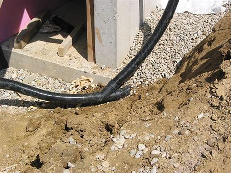 drainage verlegen anleitung mit bilder 6797 monsterhaus keller gegen feuchtigkeit isolieren