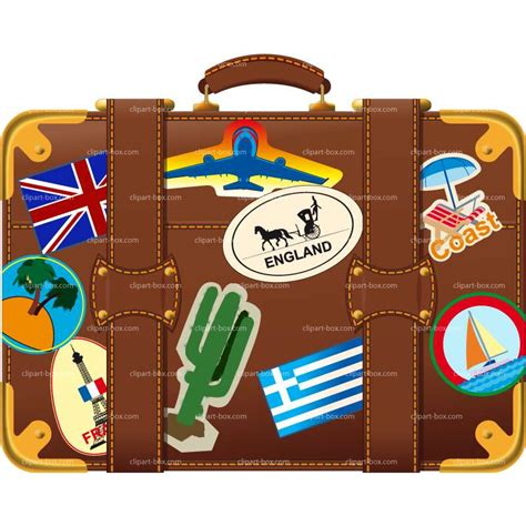 suitcase clipart kingswood packing list for year 6 clover hill primary school