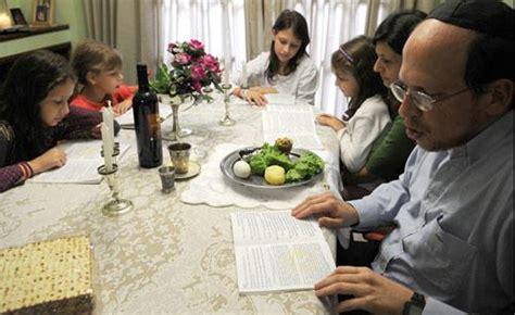 imagenes cena judia los hogares jud 237 os comienzan a celebrar el pesaj la gaceta