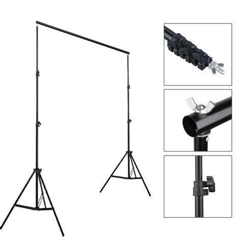 Stand Softbox 2000w photo studio softbox continuous lighting kit backgrounds light stand l ebay