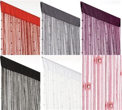 vorhang mit perlen perlen fadenvorhang helena 90x250cm t 252 rvorhang vorhang ebay