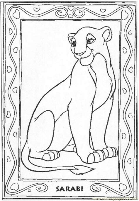 lion king coloring pages online game lion sarabi30 coloring page free the lion king coloring