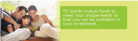 td comfort growth portfolio td mutual fund investments td canada trust
