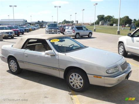 Chrysler Lebaron Gtc by 1994 Bright Platinum Metallic Chrysler Lebaron Gtc
