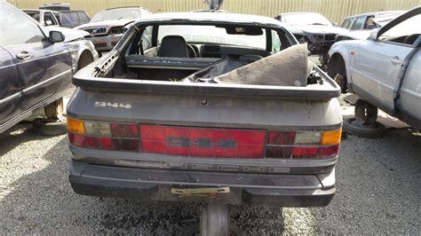 junkyard find  porsche