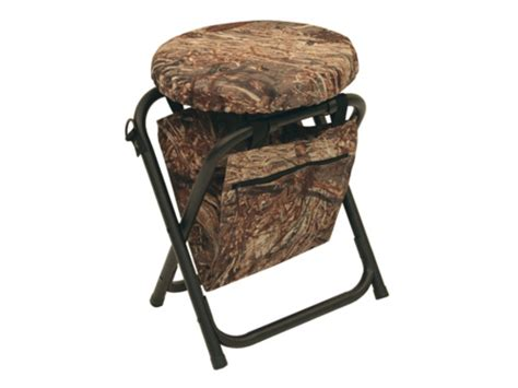 duck swivel seat alps outdoorz horizon 360 degree swivel stool steel mpn