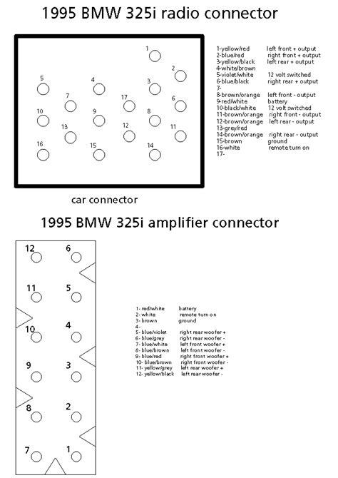 e34 radio wiring diagram