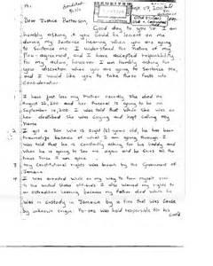 dudus letter to judge patterson