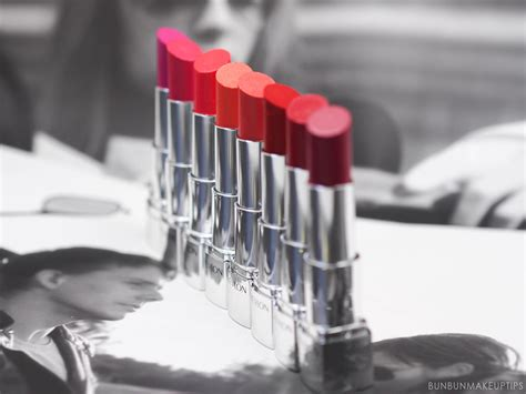 Revlon Ultra Hd Lipstick channelling different looks with different lip colors