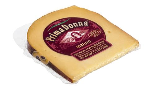 prima donna introduces pre packed cheese wedges