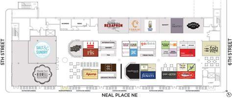 1 Market Floor Plans by Union Market Floor Plan D C Shops