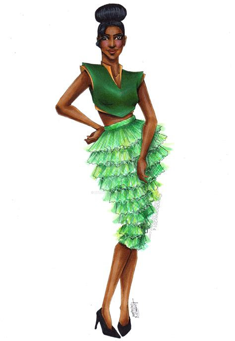 lade disney fashion illustration by zyrabanez on deviantart