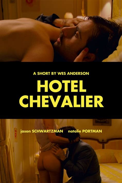 Film Hotel | hotel chevalier wes anderson movie stars pinterest