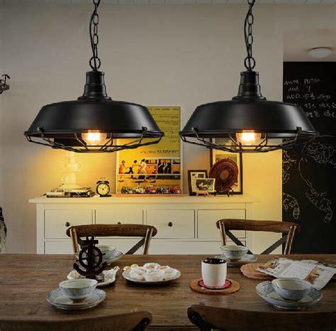 loft industrial style dining room pendant light iron american igf usa aliexpress com buy loft style iron art retro pendant