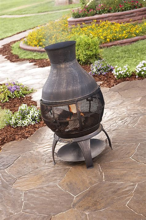 chiminea planter spice up your outdoor space with a chiminea savor