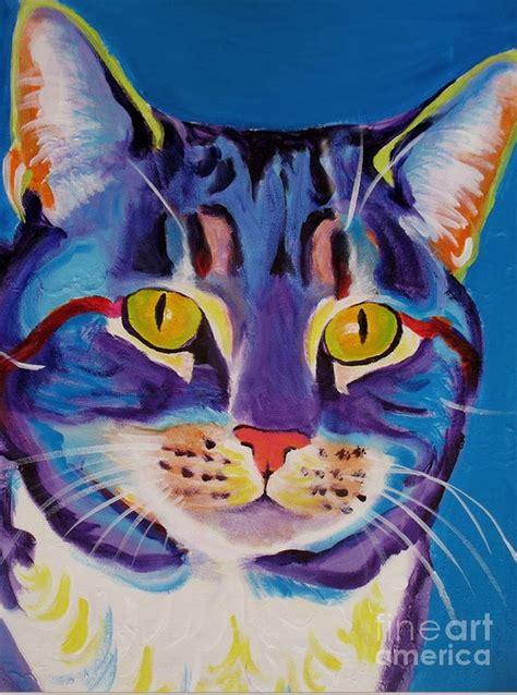 imagenes no realistas faciles cuadros modernos pinturas y dibujos como perros y gatos