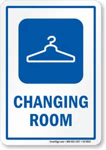 room signs for changing room signs changing area signs