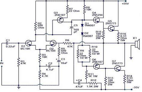 gambar transistor lifier 28 images gambar rangkaian