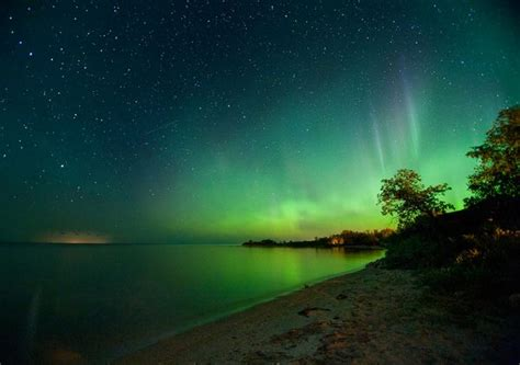 northern lights from solar flare phantoms and monsters pulse of the paranormal
