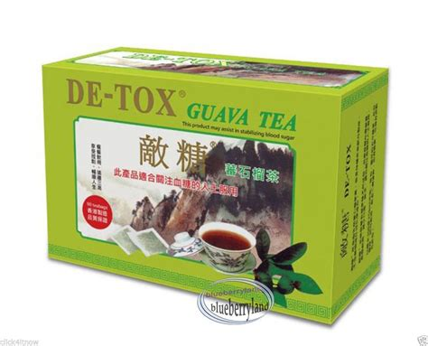Blood Detox Tea by De Tox Guava Tea 2 7g X 90 Tea Bags Detox And Stabilize