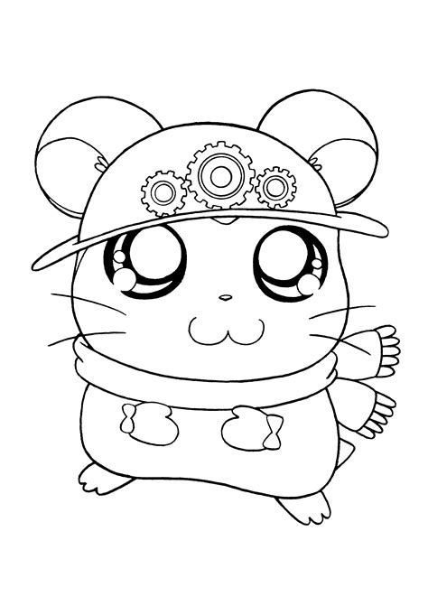 coloring page hamtaro coloring pages 149