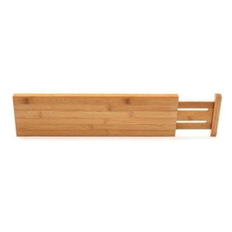 Tension Drawer Dividers by Lipper International Bamboo Kitchen Drawer Dividers