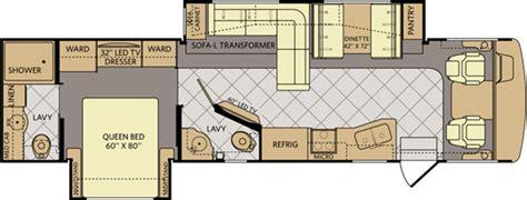 fleetwood bounder floor plans 2014 floor plans fleetwood bounder autos post
