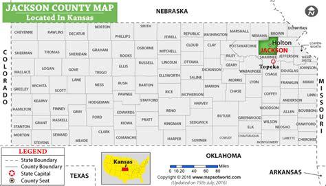jackson usa maps jackson county map kansas