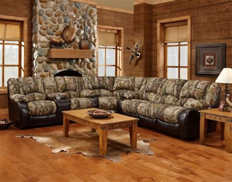tsc camo recliner sectional sofa camo sectional sofas camouflage mossy oak