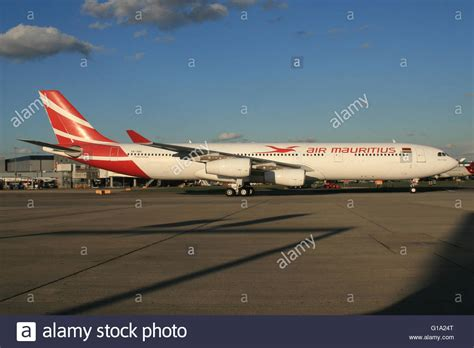 air mauritius a340 stock photo royalty free image 104098088 alamy