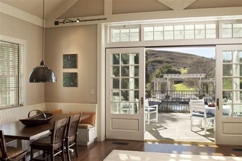 Ballard Designs Office Furniture sliding french doors patio traditional with deck furniture