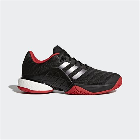Adidas Tennis Black adidas mens barricade boost 2018 tennis shoes black
