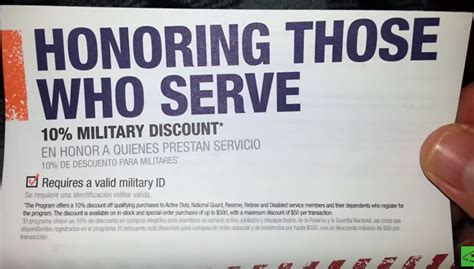 home depot perks home depot discounts no longer honor all veterans