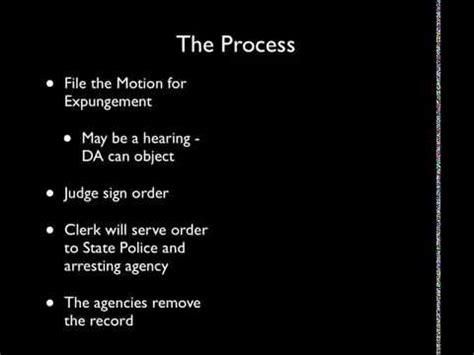 louisiana expungement of criminal record